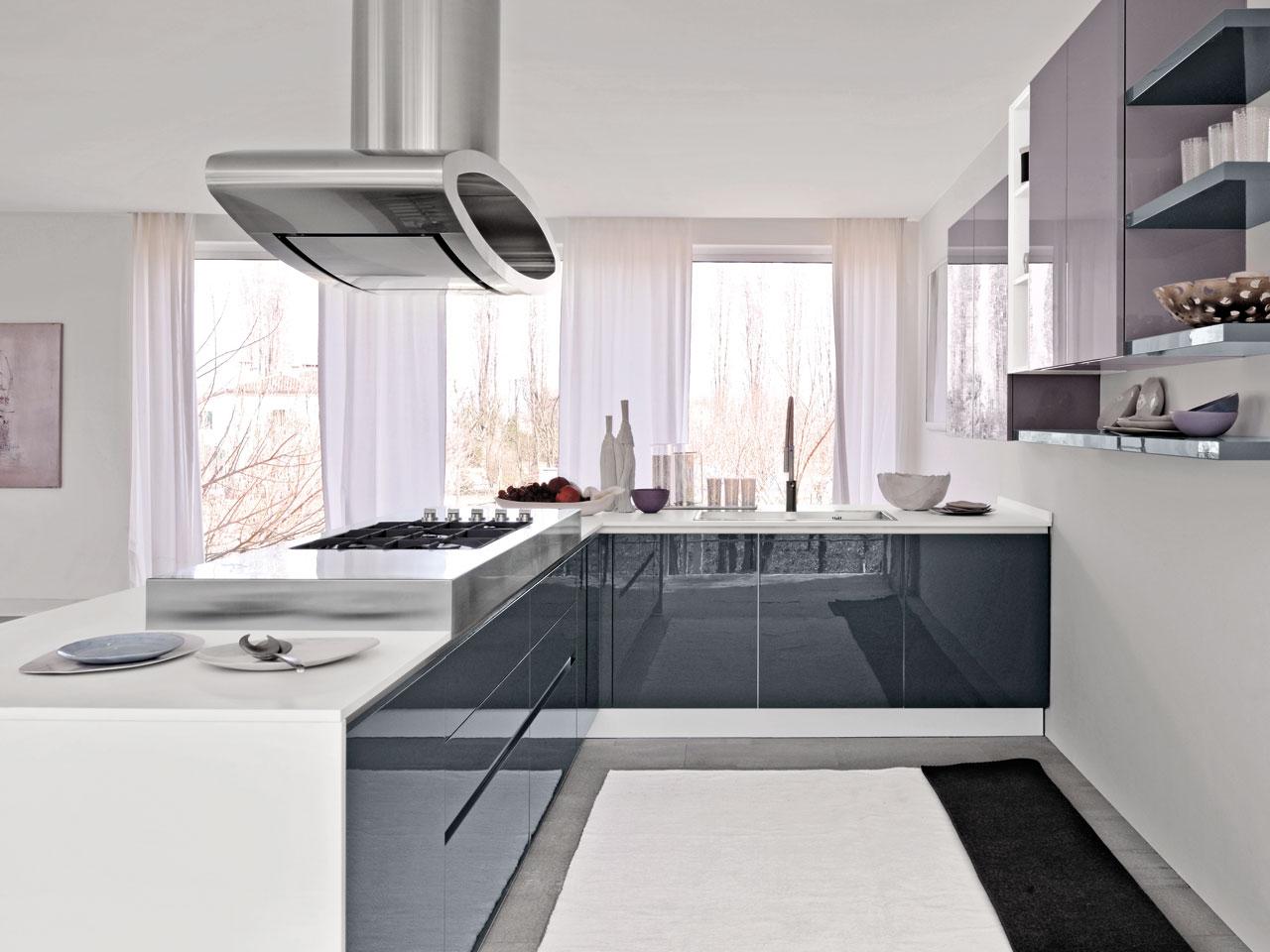 Moderne : Cucine Lube Mod. Brava