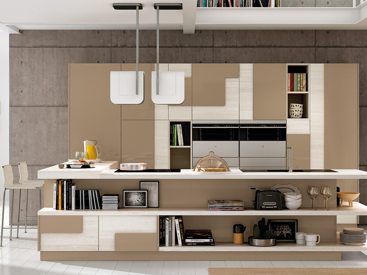 Moderne : Cucine Lube Mod. Creativa