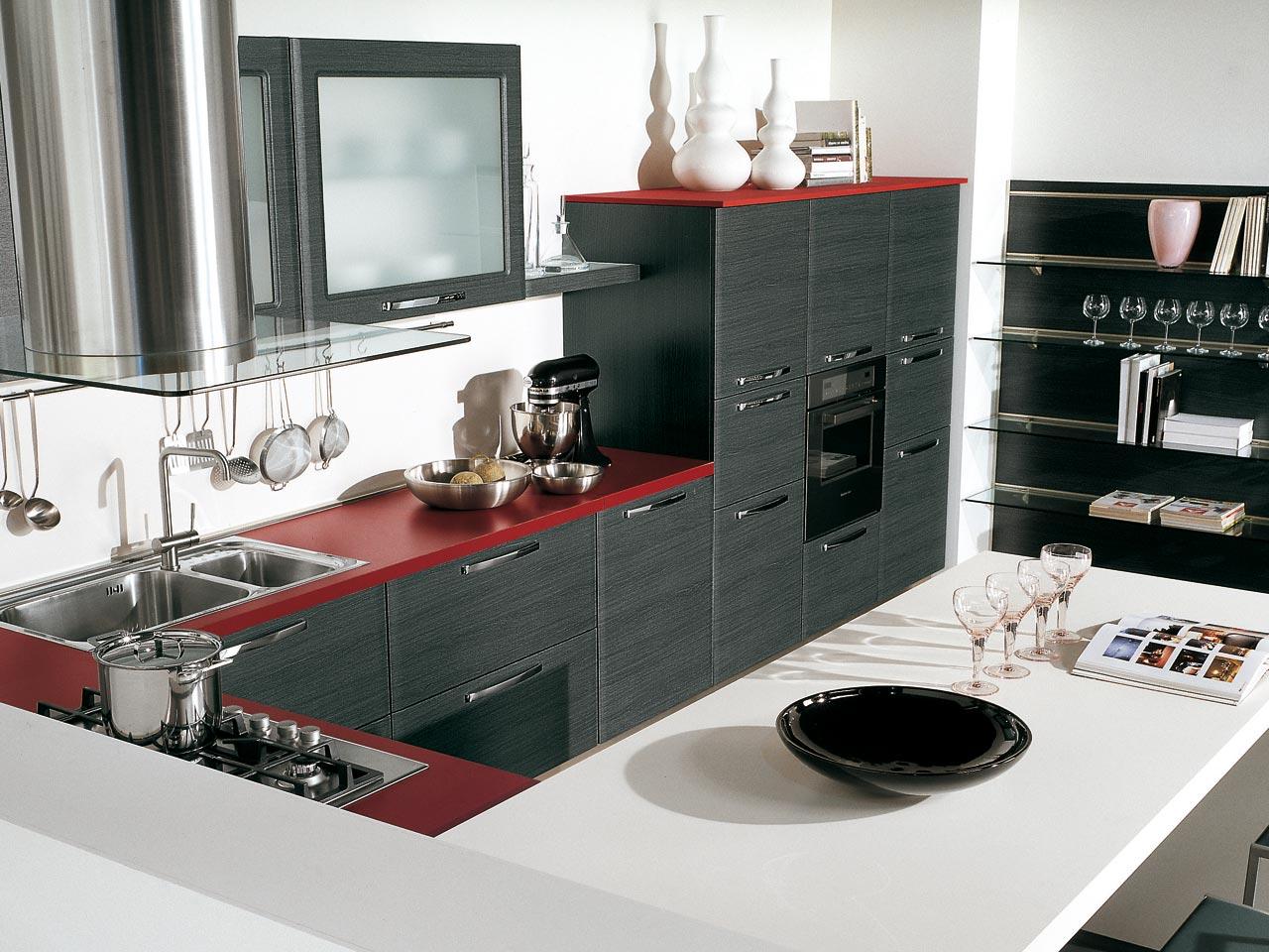 Modern : Cucine Lube Mod. Doris