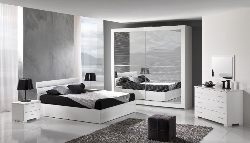 Sleeping area : CAMERA DA LETTO MODERNA 02