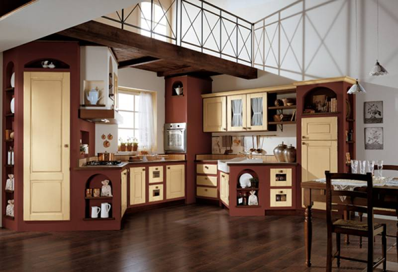 Awesome Cucina Stile Antico Pictures - House Interior - kurdistant.info